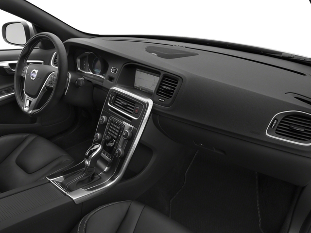 2016 Volvo S60 Prices and Values Sed T6 R-Design Platinum Drive-E AWD passenger's dashboard