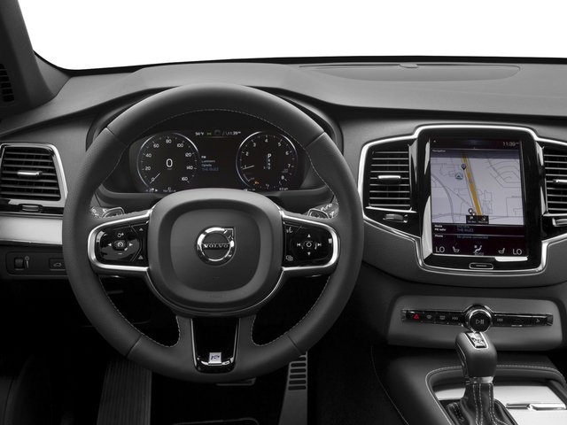 2016 Volvo XC90 Prices and Values Utility 4D T6 R-Design AWD I4 Turbo driver's dashboard