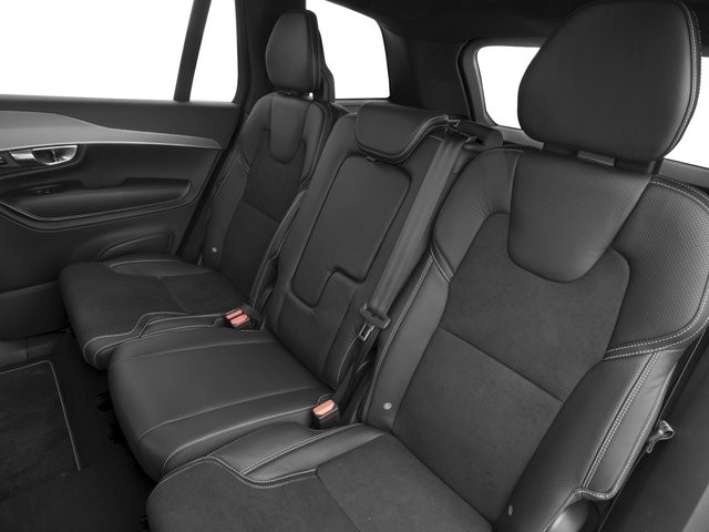 2016 Volvo XC90 Prices and Values Utility 4D T6 R-Design AWD I4 Turbo backseat interior