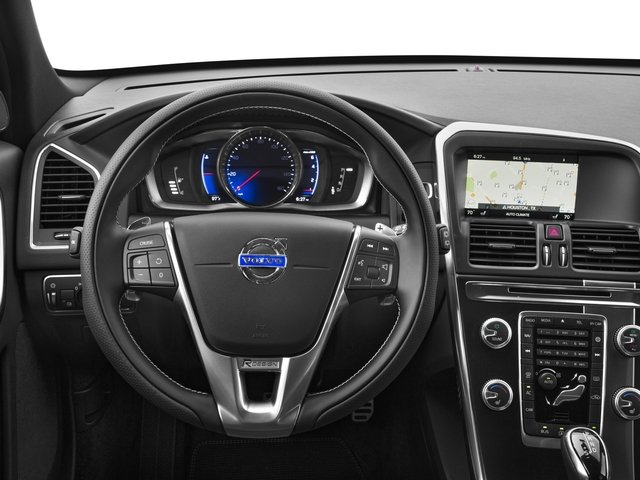 2016 Volvo XC60 Pictures XC60 Util 4D T6 R-Design AWD I6 Turbo photos driver's dashboard