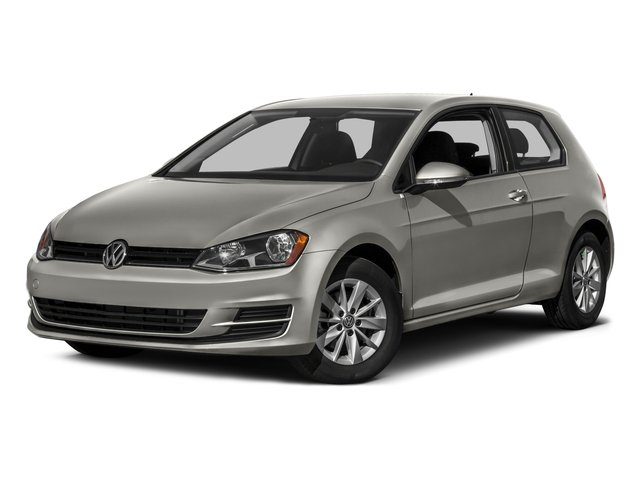 2016 Volkswagen Golf Prices and Values Hatchback 2D I4 Turbo side front view