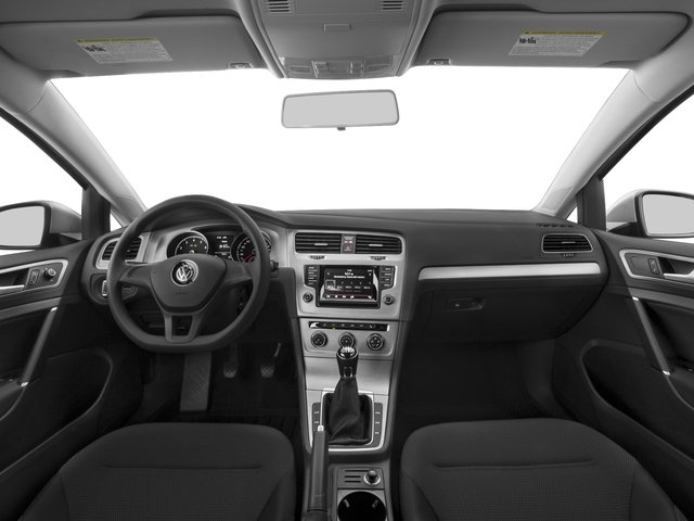 2016 Volkswagen Golf Prices and Values Hatchback 2D I4 Turbo full dashboard