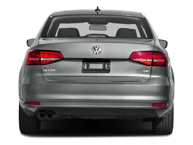 2016 Volkswagen Jetta Sedan Prices and Values Sedan 4D S I4 rear view