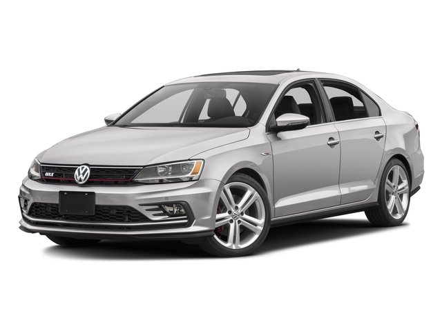 2016 Volkswagen Jetta Sedan Prices and Values Sedan 4D GLI SEL I4 Turbo side front view