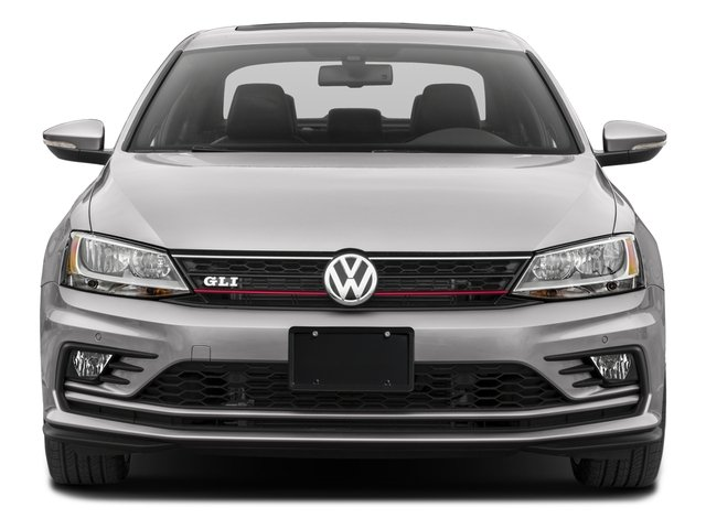 2016 Volkswagen Jetta Sedan Prices and Values Sedan 4D GLI SEL I4 Turbo front view