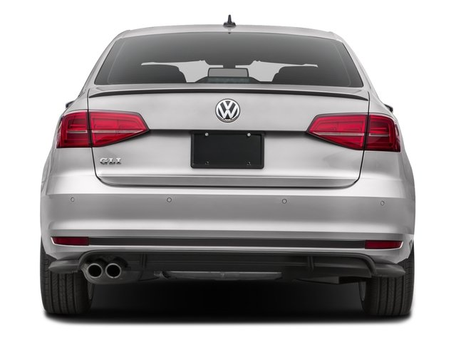 2016 Volkswagen Jetta Sedan Prices and Values Sedan 4D GLI SEL I4 Turbo rear view