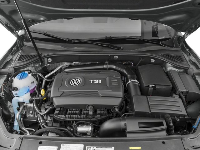 2016 Volkswagen Passat Pictures Passat Sedan 4D R-Line I4 Turbo photos engine