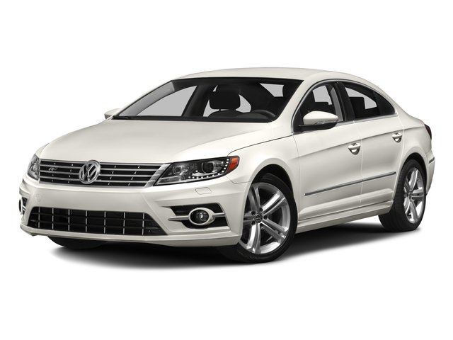 2016 Volkswagen CC Prices and Values Sedan 4D R-Line I4 Turbo side front view