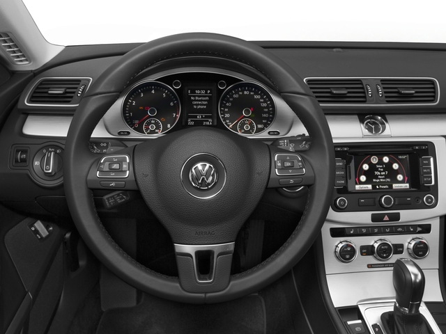 2016 Volkswagen CC Prices and Values Sedan 4D R-Line I4 Turbo driver's dashboard