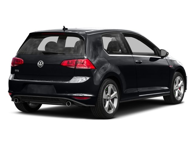 2016 Volkswagen Golf GTI Prices and Values Hatchback 2D SE I4 Turbo side rear view