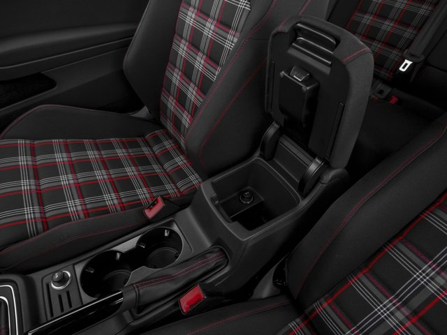 2016 Volkswagen Golf GTI Prices and Values Hatchback 2D SE I4 Turbo center storage console