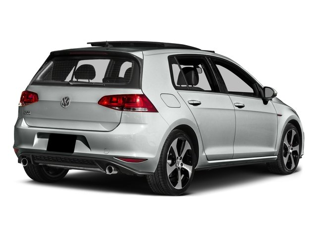 2016 Volkswagen Golf GTI Pictures Golf GTI Hatchback 4D S I4 Turbo photos side rear view