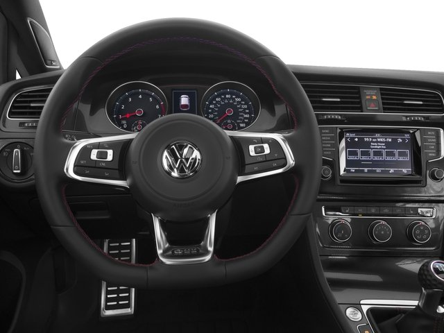 2016 Volkswagen Golf GTI Prices and Values Hatchback 4D S I4 Turbo driver's dashboard