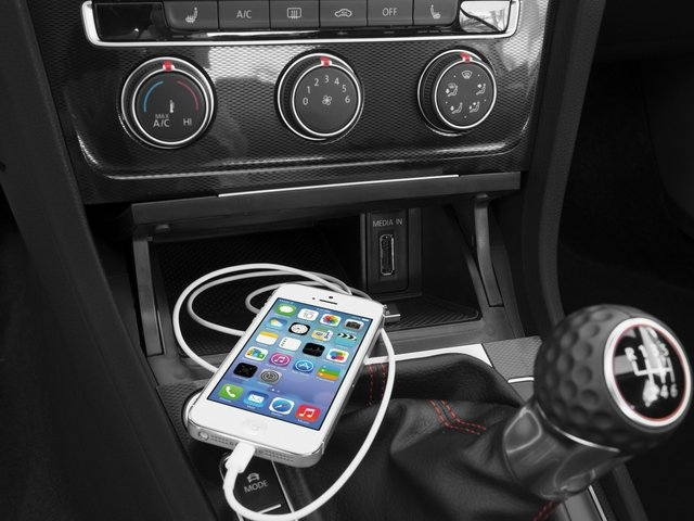 2016 Volkswagen Golf GTI Prices and Values Hatchback 4D S I4 Turbo iPhone Interface