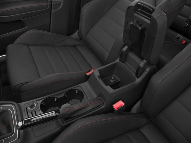 2016 Volkswagen Golf GTI Prices and Values Hatchback 4D S I4 Turbo center storage console