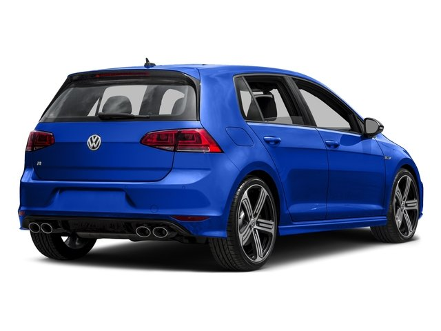 2016 Volkswagen Golf R Pictures Golf R Hatchback 4D R AWD I4 Turbo photos side rear view