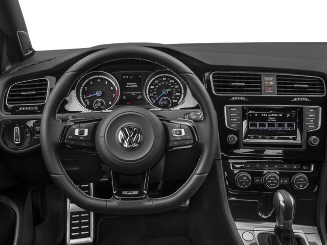 2016 Volkswagen Golf R Pictures Golf R Hatchback 4D R AWD I4 Turbo photos driver's dashboard