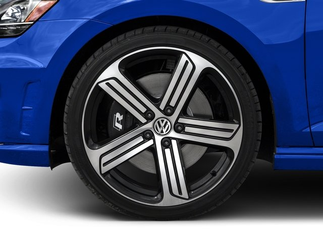 2016 Volkswagen Golf R Pictures Golf R Hatchback 4D R AWD I4 Turbo photos wheel