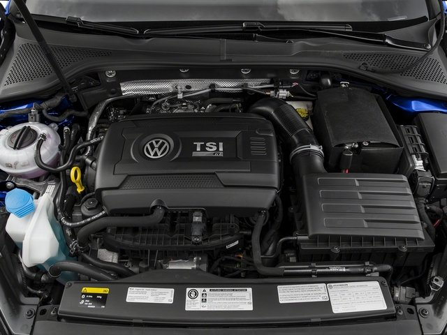2016 Volkswagen Golf R Pictures Golf R Hatchback 4D R AWD I4 Turbo photos engine