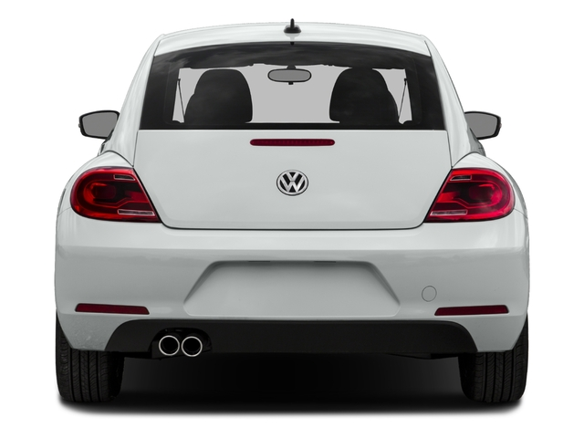 2016 Volkswagen Beetle Coupe Pictures Beetle Coupe 2D R-Line SEL I4 Turbo photos rear view