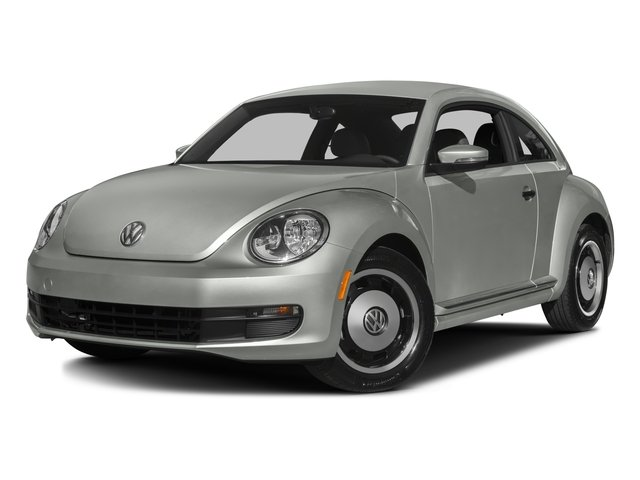 2016 Volkswagen Beetle Coupe Prices and Values Coupe 2D Classic I4 Turbo side front view