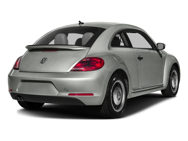 2016 Volkswagen Beetle Coupe Prices and Values Coupe 2D Classic I4 Turbo side rear view