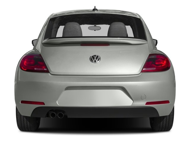 2016 Volkswagen Beetle Coupe Prices and Values Coupe 2D Classic I4 Turbo rear view