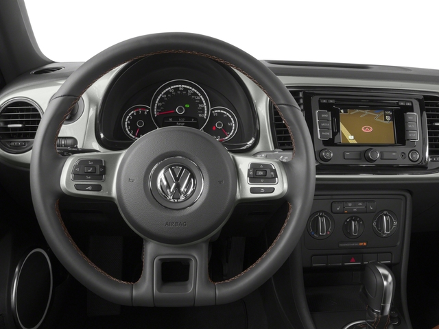 2016 Volkswagen Beetle Coupe Prices and Values Coupe 2D Classic I4 Turbo driver's dashboard