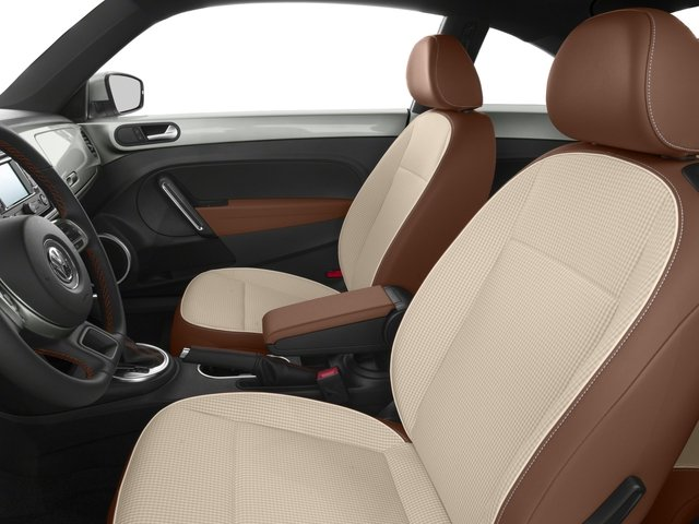 2016 Volkswagen Beetle Coupe Prices and Values Coupe 2D Classic I4 Turbo front seat interior