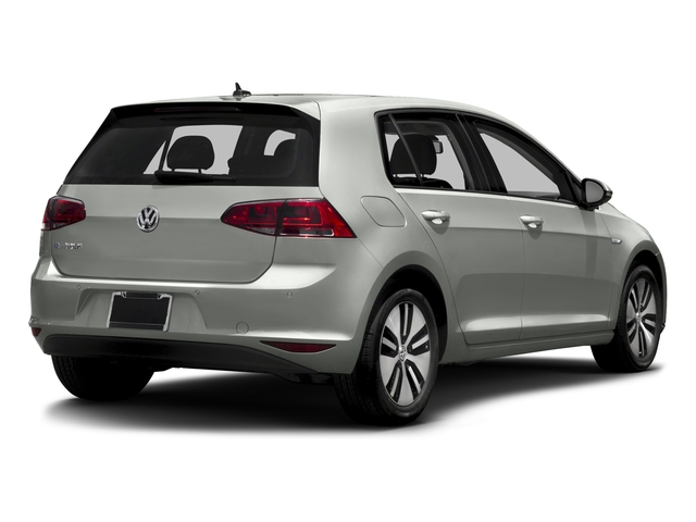 2016 Volkswagen e-Golf Prices and Values Hatchback 4D e-Golf Limited Electric side rear view