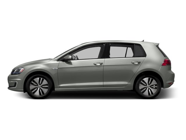 2016 Volkswagen e-Golf Prices and Values Hatchback 4D e-Golf Limited Electric side view