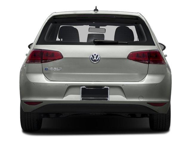 2016 Volkswagen e-Golf Prices and Values Hatchback 4D e-Golf Limited Electric rear view