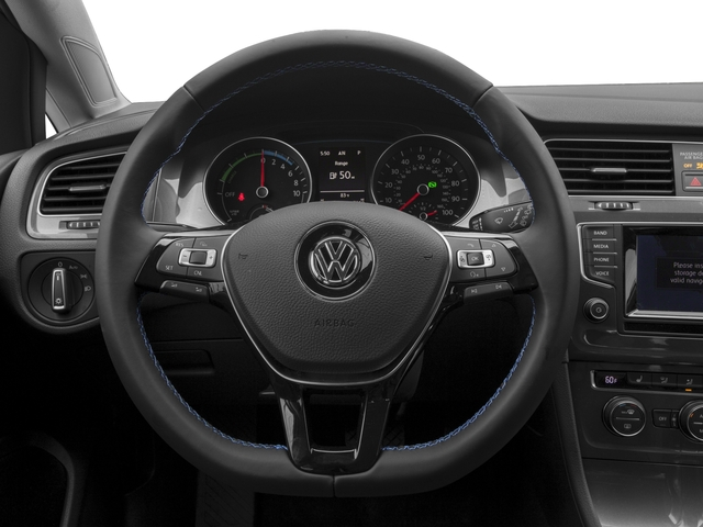 2016 Volkswagen e-Golf Prices and Values Hatchback 4D e-Golf Limited Electric driver's dashboard