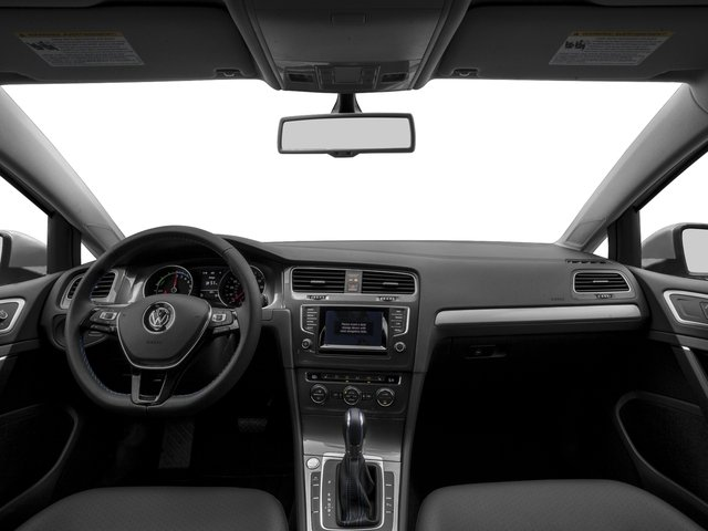 2016 Volkswagen e-Golf Prices and Values Hatchback 4D e-Golf Limited Electric full dashboard