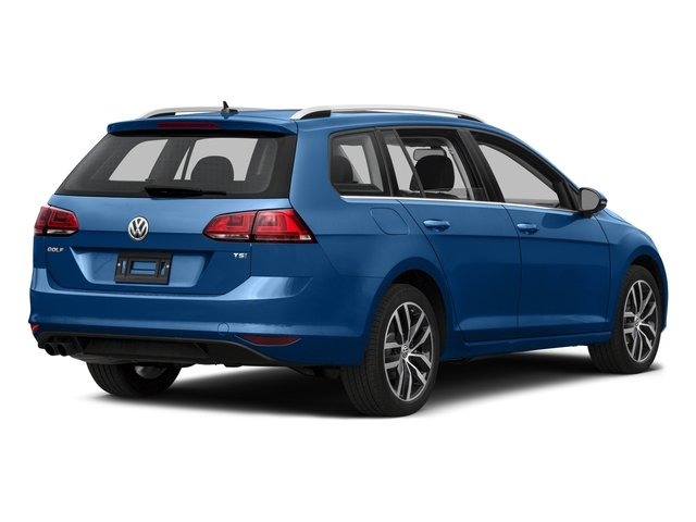 2016 Volkswagen Golf SportWagen Prices and Values Wagon 4D Limited I4 Turbo side rear view