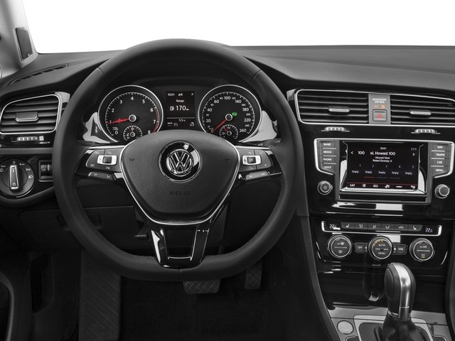 2016 Volkswagen Golf SportWagen Prices and Values Wagon 4D Limited I4 Turbo driver's dashboard