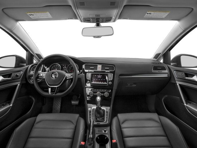 2016 Volkswagen Golf SportWagen Prices and Values Wagon 4D Limited I4 Turbo full dashboard