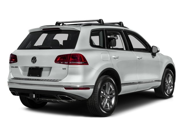2016 Volkswagen Touareg Pictures Touareg Utility 4D Executive AWD V6 photos side rear view