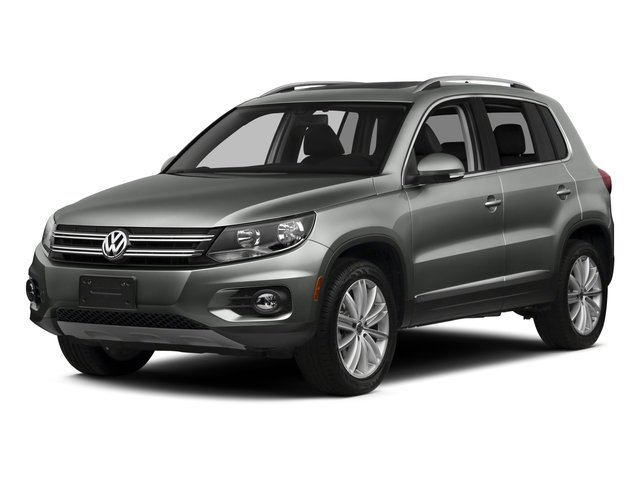 2016 Volkswagen Tiguan Pictures Tiguan Utility 4D SE 2WD I4 Turbo photos side front view