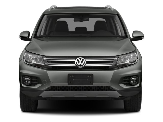 2016 Volkswagen Tiguan Pictures Tiguan Utility 4D SEL AWD I4 Turbo photos front view