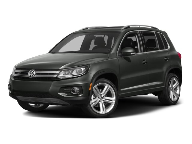 2016 Volkswagen Tiguan Prices and Values Utility 4D R-Line AWD I4 Turbo side front view