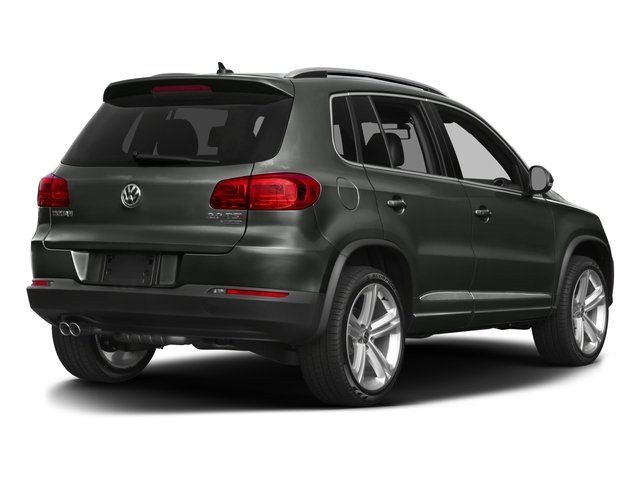 2016 Volkswagen Tiguan Prices and Values Utility 4D R-Line AWD I4 Turbo side rear view