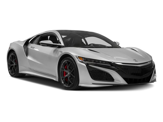 2017 Acura NSX Pictures NSX Coupe 2D AWD V6 Hybrid Turbo photos side front view