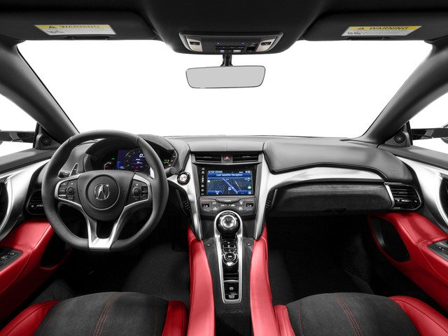 2017 Acura NSX Base Price Coupe Pricing full dashboard