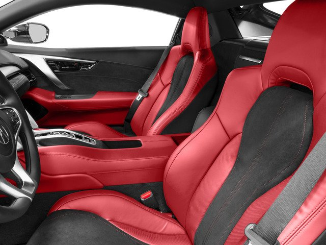 2017 Acura NSX Base Price Coupe Pricing front seat interior