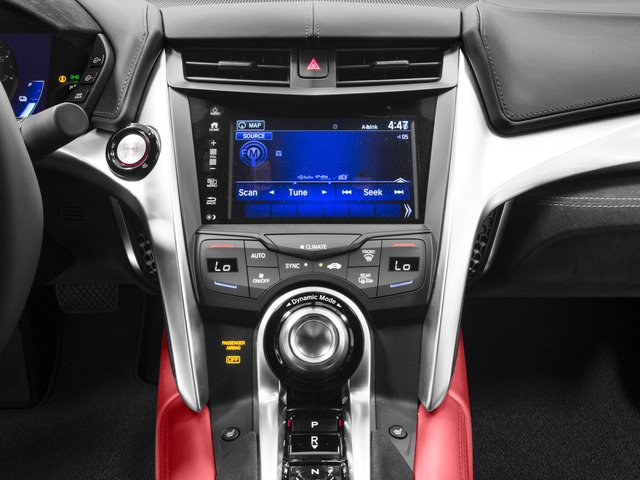 2017 Acura NSX Base Price Coupe Pricing stereo system