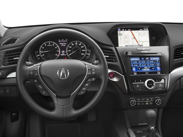 2017 Acura ILX Base Price Sedan w/Technology Plus Pkg Pricing driver's dashboard