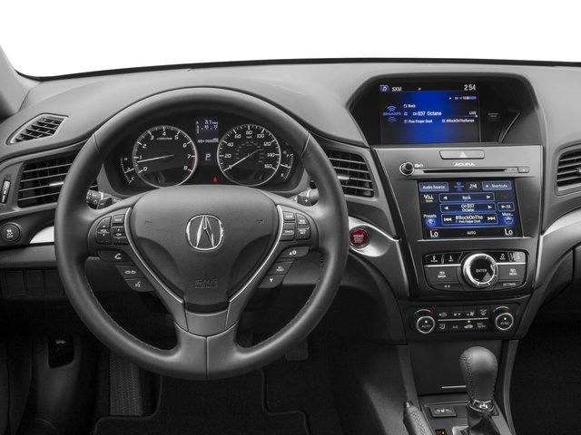 2017 Acura ILX Prices and Values Sedan 4D Premium I4 driver's dashboard