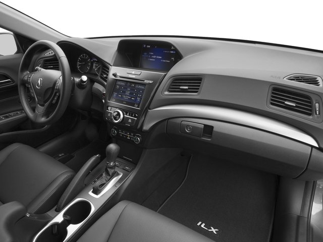 2017 Acura ILX Prices and Values Sedan 4D Premium I4 passenger's dashboard