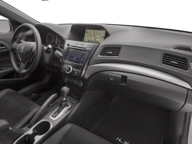2017 Acura ILX Base Price Sedan w/Technology Plus/A-SPEC Pkg Pricing passenger's dashboard